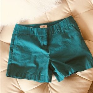 "LOFT Teal Green 4"" Short 4"